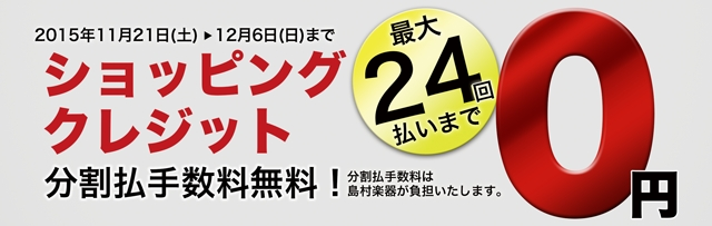 分割手数料0円