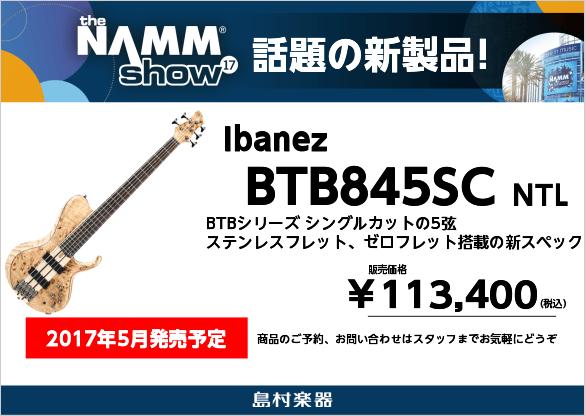 Ibanez BTB845SC NTL