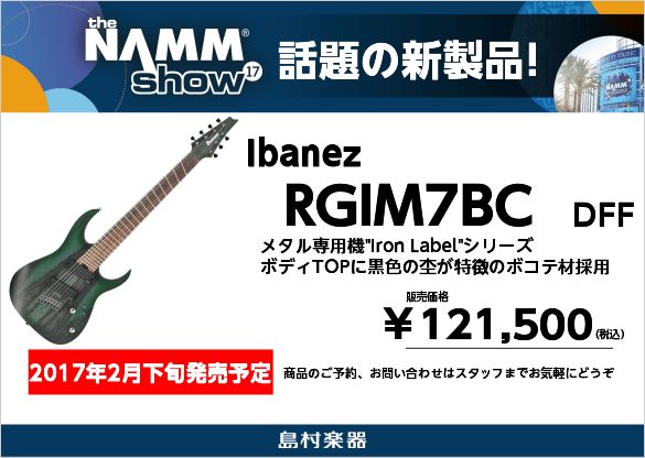 Ibanez RGIM7BC DFF