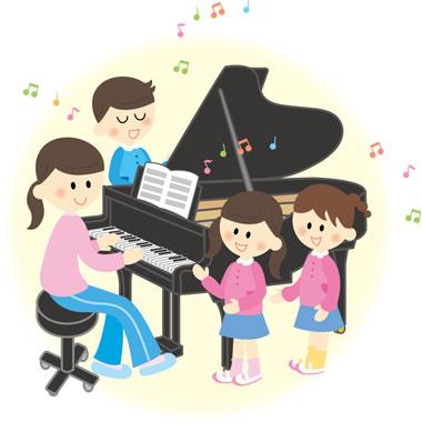 「ピアノ教室 イラスト」の画像検索結果