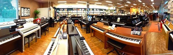 島村楽器ピアノショールーム八千代店 電子ピアノ デジタルピアノコーナー
