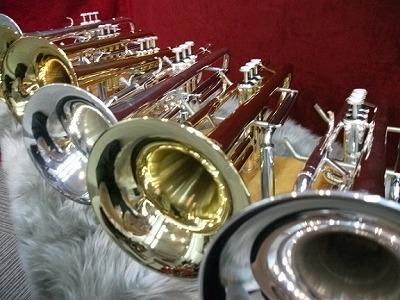 今回は金管楽器のみのフェア