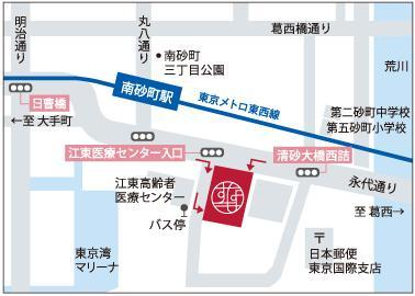 ショッピングセンターSUNAMO交通アクセス