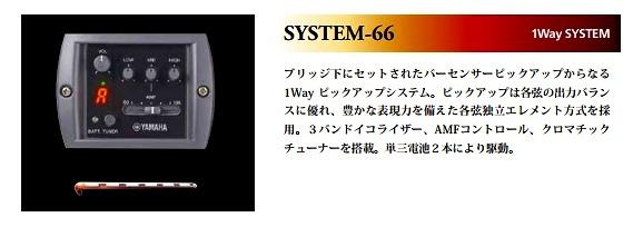 安定のSYSTEM-66搭載です