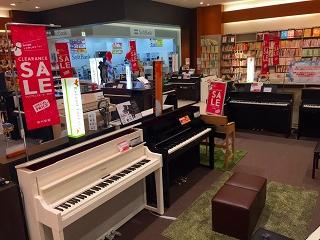電子ピアノコーナークリアランス2