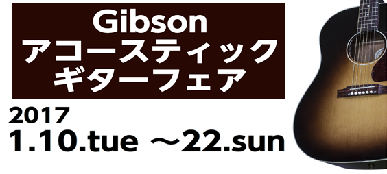ギブソン アコースティック 札幌パルコ