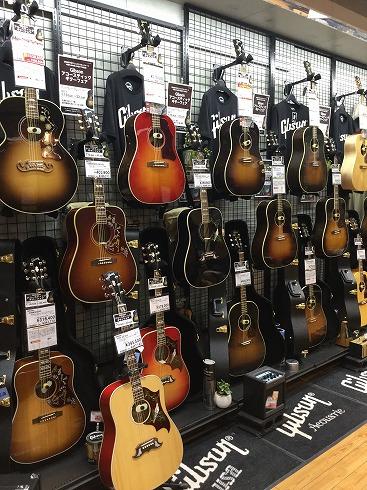 ギブソン アコースティックギター 札幌パルコ