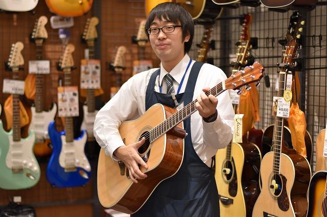 島村楽器広島祇園店 アコースティックギター エレキギター エレキベース クラシックギター ギター 担当 勇木