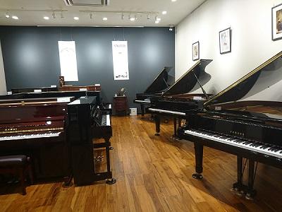 島村楽器広島府中店 ピアノショールーム
