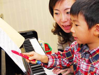 ピアノ&幼児の基礎音楽コース