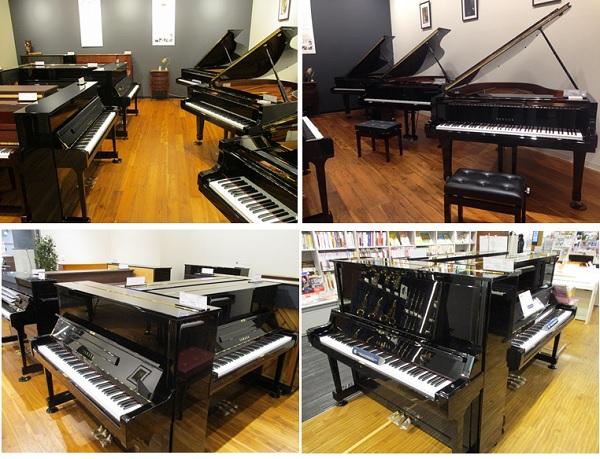 広島府中店ピアノコーナー