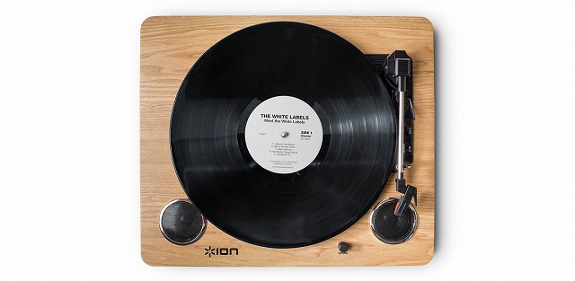 DJ】ポータブル・レコードプレーヤーION/Archive LP 大人気の為在庫 ...