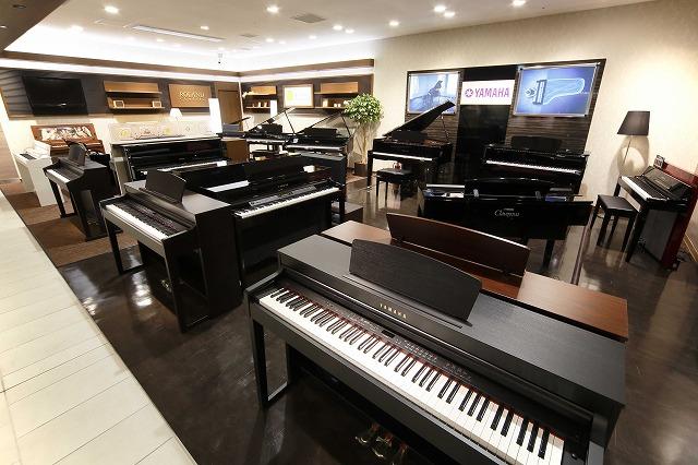 電子ピアノコーナー