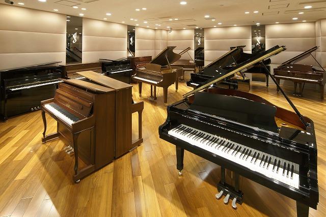 島村楽器グランフロント大阪店・ピアノセレクションルーム