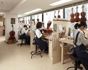 島村楽器バイオリン工房