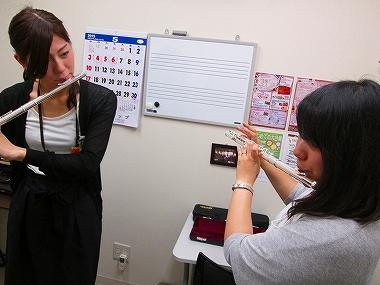 梅田 大阪 フルート教室