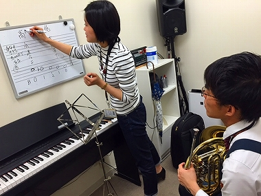 梅田 大阪 ホルン教室