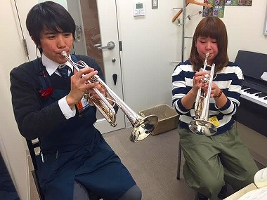 梅田 大阪 トランペット教室