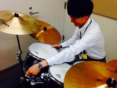 梅田 大阪 ドラムレッスン