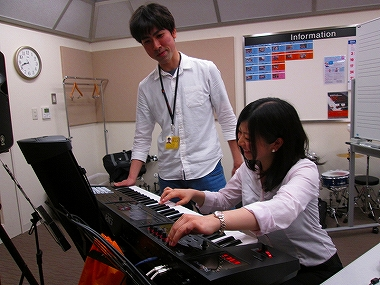 梅田 大阪 シンセサイザー教室