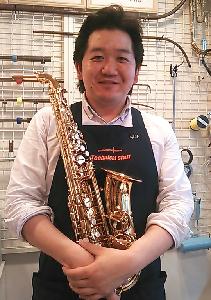 横浜みなとみらい店 管楽器リペアマン平井