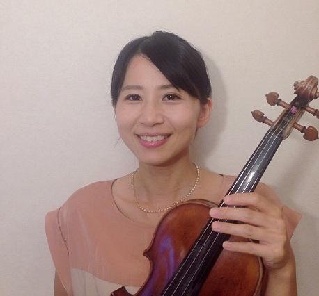 バイオリン講師 東藍子