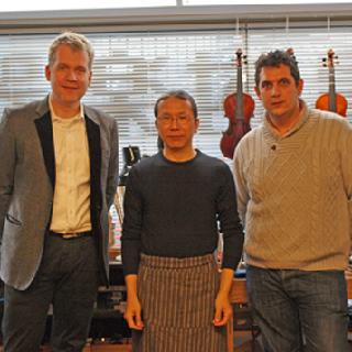 Andrea Schutz氏のファミリーも来日。製作についてのセミナーなども実施。 島村楽器横浜みなとみらい店