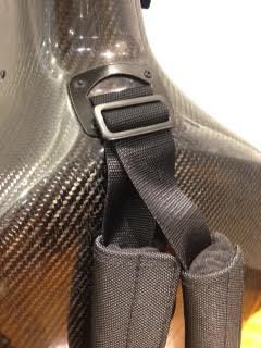Musilia S3 軽量でかつ安全性の高いベルト。装着感も、クッションが付いていて良いです。