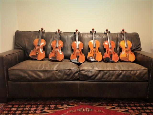 バイオリンインストラクターが秋葉原工房にて厳選。2本目にベストな楽器を集めました