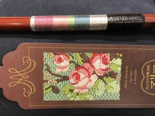 絹糸ラッピング バイオリンリペア