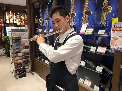 島村楽器イオンモール名古屋茶屋店フルートの選び方