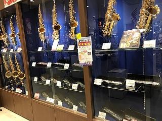 島村楽器イオンモール名古屋茶屋店フルートコーナー