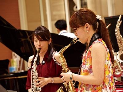 島村楽器講師・インストラクターや吹奏楽団によるコンサート