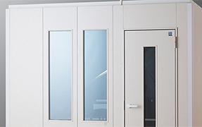 Fix窓パネル設置例