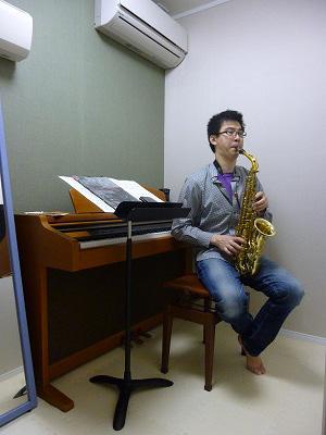 防音室_練習風景