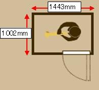 0.8畳 イメージ