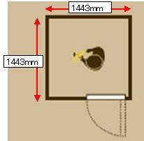 1.2畳 イメージ