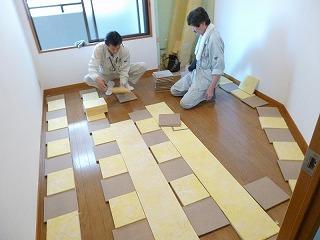 床を作る1