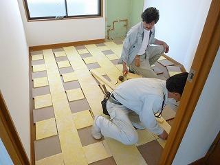 床を作る2