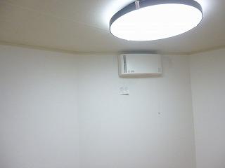 照明・換気扇の取り付け