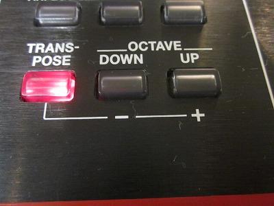 音階を変える便利な機能、キーボードのトランスポーズ機能を使ってみよう!
