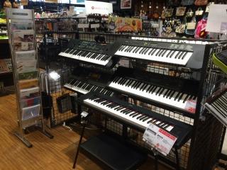 島村楽器アリオ柏店キーボードコーナー