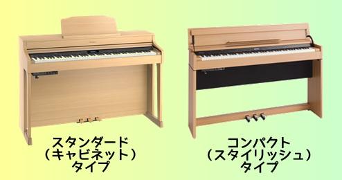 ピアノのサイズのおはなし
