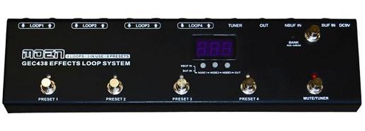 MOEN スイッチャー エフェクター ボード プログラム GEC438