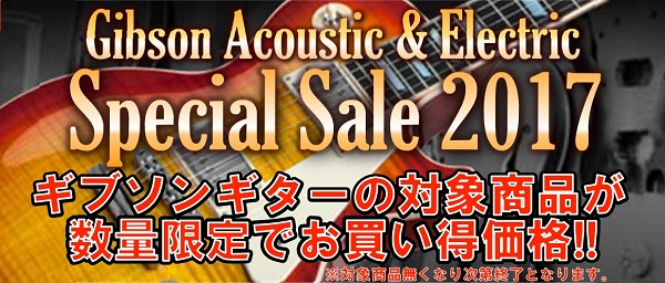 Gibson Special Sale 2017