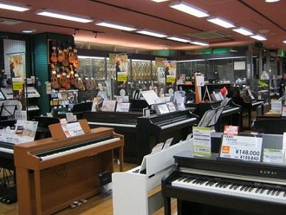 電子ピアノ ユーカリが丘