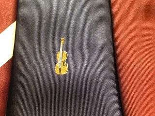 バイオリン ネクタイ プレゼント