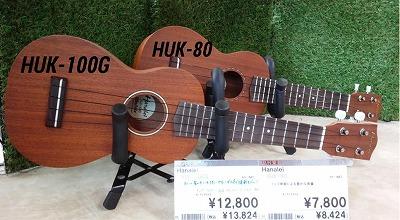 ハナレイHUK-80・HUK-100G