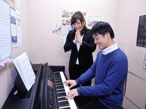大人/ピアノレッスン/平林
