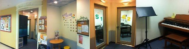 サロン待合室・レッスン室